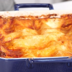 Low carb Cottage Cheese Lasagna